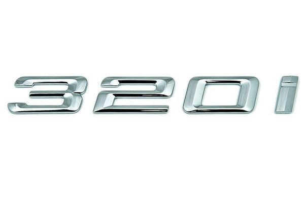 "BMW Genuine ""320i"" Self-Adhesive Sticker Badge Emblem"