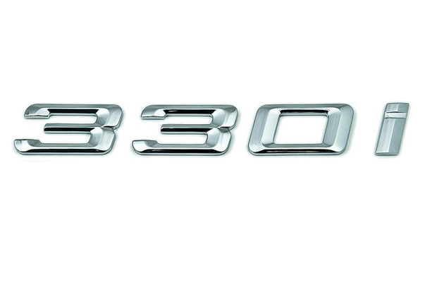 "BMW Genuine ""330i"" Self-Adhesive Sticker Badge Emblem"