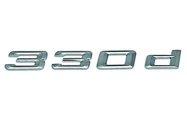 "BMW Genuine ""330d"" Self-Adhesive Sticker Badge Emblem"