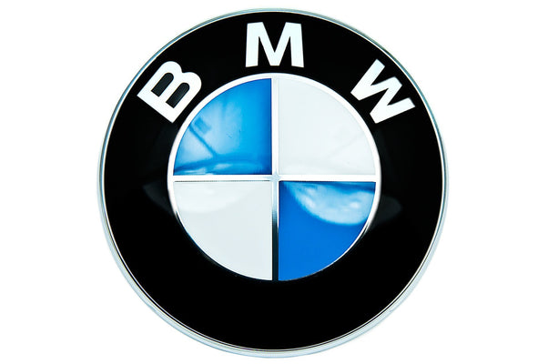 BMW Genuine Front Roundel Emblem Badge Bonnet/Hood 82mm Fits Most