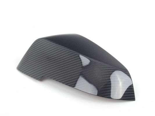 Genuine BMW Left Passenger Side NS Mirror Cover Cap Carbon