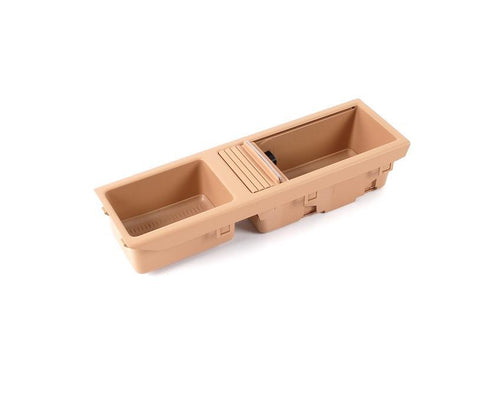 BMW Centre Console Tray Storage Insert+Cover Beige