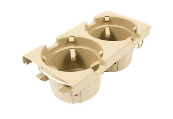 BMW Genuine Front Center Console Cup/Drink Holder Beige