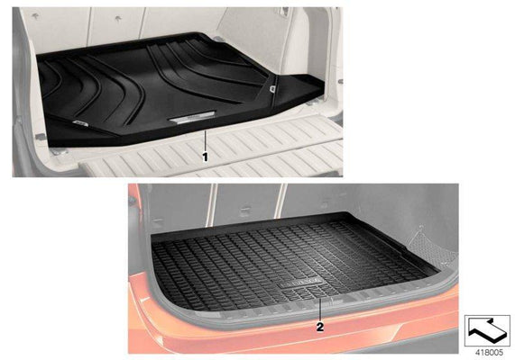 BMW Genuine Tailored Luggage Boot Mat