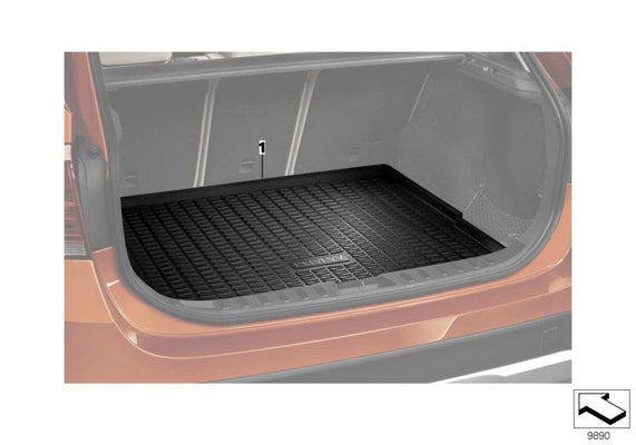 BMW Genuine Tailored Luggage Boot Mat Liner