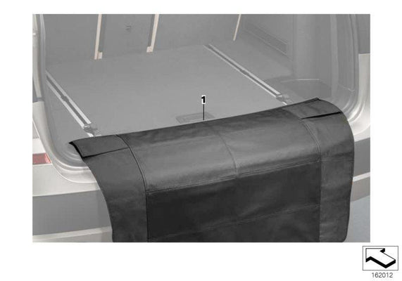 BMW Genuine Protective Trunk Boot Liner Mat For Loading Edge