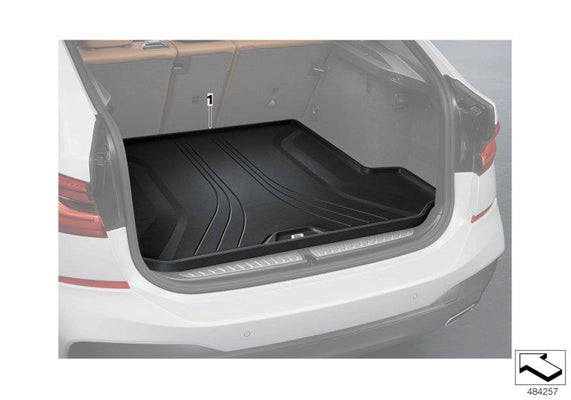 BMW Genuine Trunk Boot Fitted Luggage Compartment Protective Mat