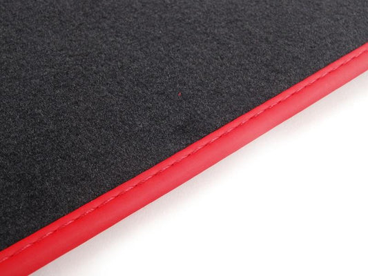 MINI Genuine JCW Floor Mats Front Set Velours GP2 Chilli Red