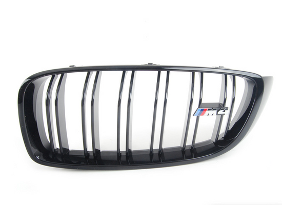 BMW Genuine M Performance Bumper Radiator Grill Black N/S