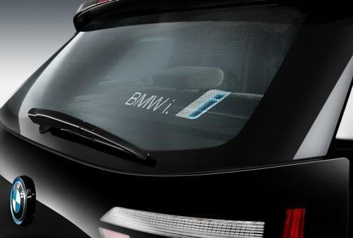 BMW Genuine i3 Rear Window Sunshade Sun Shade Cover UV Protection