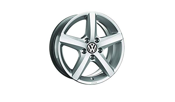 "VW 16"" Aspen Brilliant Silver Alloy Wheel"