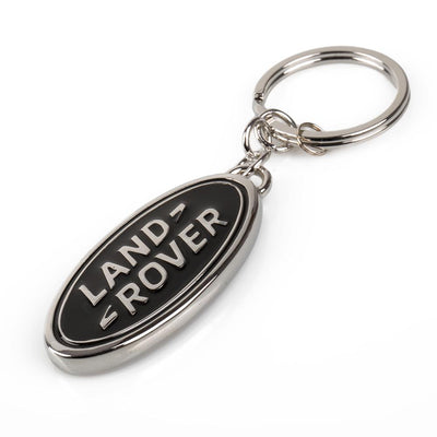 Land Rover Oval keyring - Black