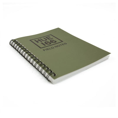 Land Rover Hue Note Book Small A6 - Green