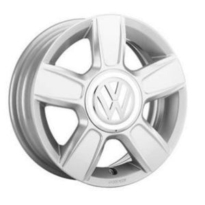 "VW 16"" Corvara Brilliant Silver Alloy Wheel"