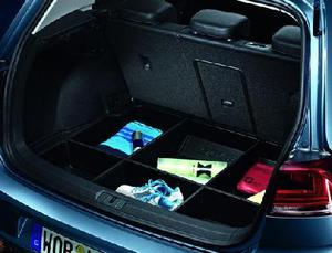 VW Boot Tray with Partitions - vehicles with Basic Floor