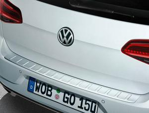 VW Rear Bumper Protection - Stainless Steel