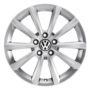 "VW 15"" Merano Brilliant Silver Alloy Wheel"