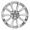 "VW 16"" Merano Brilliant Silver Alloy Wheel"