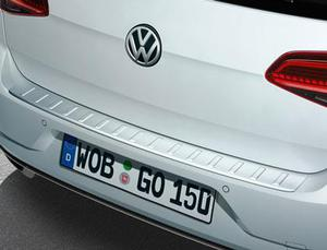 VW Rear Bumper Protection - Stainless Steel Optic