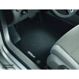 VW Luxury Carpet Mat Set - Front and Rear