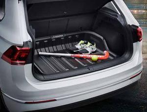 VW Boot liner for vehicles with variable luggage compartment floor