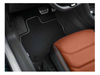VW Luxury Carpet Set - Black (RHD)