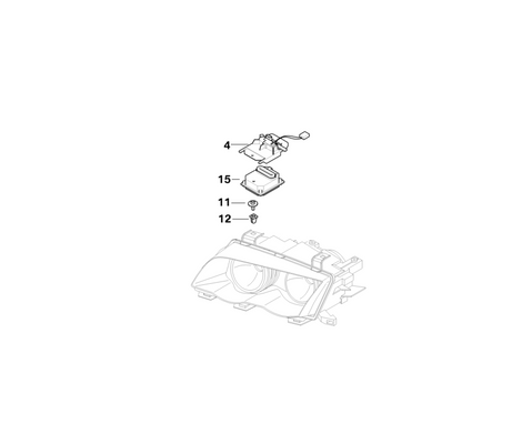 BMW Genuine Control Unit Xenon Light