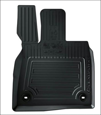 Lexus RXL Front & Rear Rubber Floor Mats