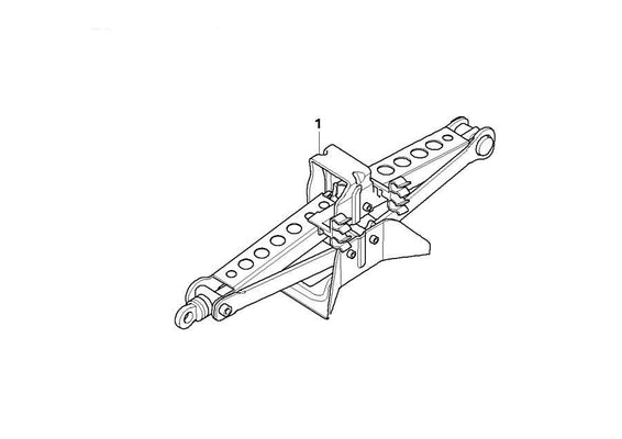 BMW Genuine Steel Car Lifting Jack Articulated