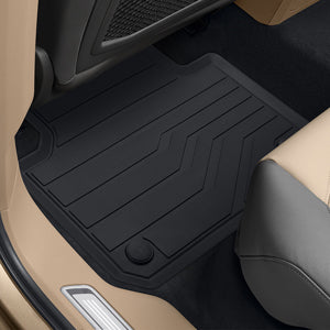VW Rear Rubber Floor Mats