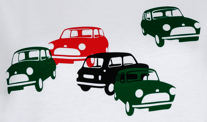 MINI Car Print T Shirt