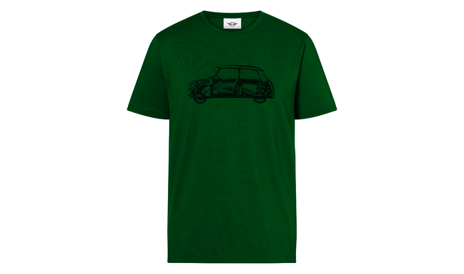 MINI Car Print T-Shirt Men's