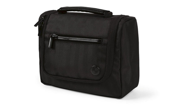 BMW Genuine Main Collection Travel Toiletries Wash Bag Black