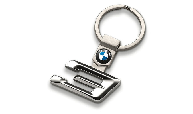 BMW Genuine Main Collection Stylish Stainless Steel Keyring