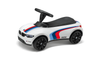 BMW Genuine Baby Racer III M Sport White Push Car Toy LED Headlights