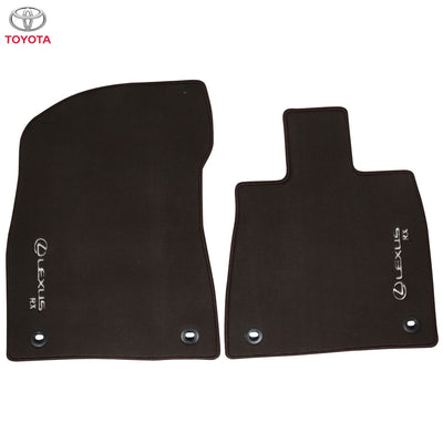 Lexus RX L Textile Floor Mats For 2nd & 3rd Row Brown