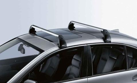BMW Genuine Aluminium Lockable Roof Bars Rack Support
