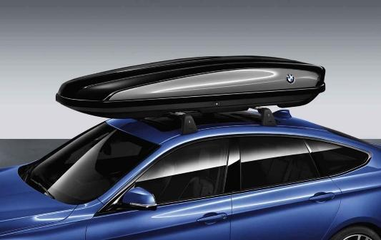 BMW Genuine Roof Box Luggage Cargo Storage 520 L Lockable Black
