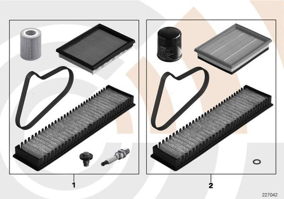MINI Genuine Engine Maintenance Service Kit For R50 R52 Cabrio