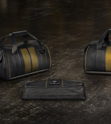 Porsche Leather Exclusive Series luggage set