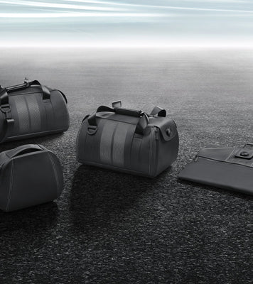 Porsche Leather Luggage Set