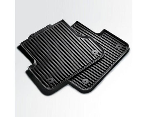 Audi Rear Rubber Car Mats for Audi A3 Models