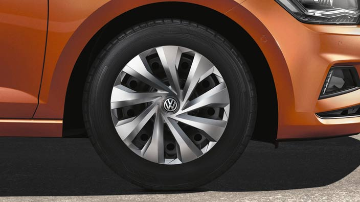 "VW Wheel Trim (15"") - Brilliant Silver"
