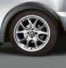 "MINI Genuine 17"" Inch Alloy Wheel Web-Spoke Composite R98 Silver"