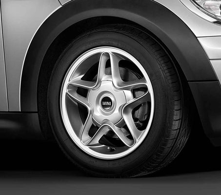 "MINI Genuine 16"" Inch Light Alloy Wheel S-Winder R102 Silver"