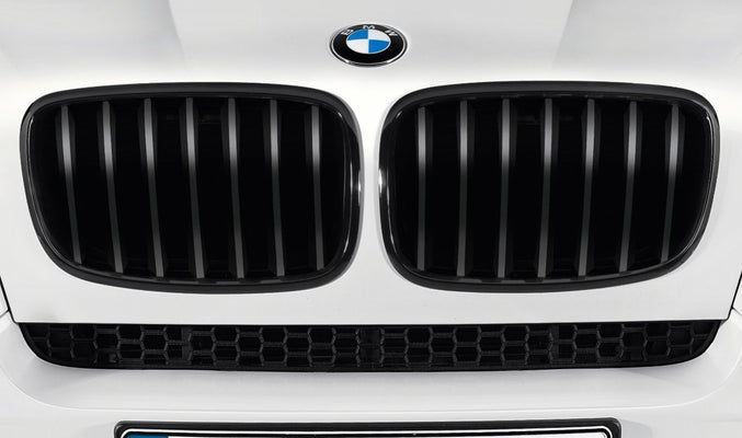 BMW Genuine Front Right Trim Performance Kidney Grille Black