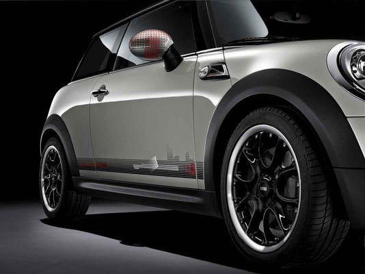 "MINI Genuine 17"" Light Alloy Wheel Web-Spoke Composite R98 Black"
