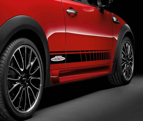 "MINI Genuine JCW 18"" Light Alloy Wheel Cross-Spoke R113 Burnished"