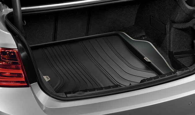 BMW Genuine Fitted Luggage Boot Compartment Mat Black 4 Series F36