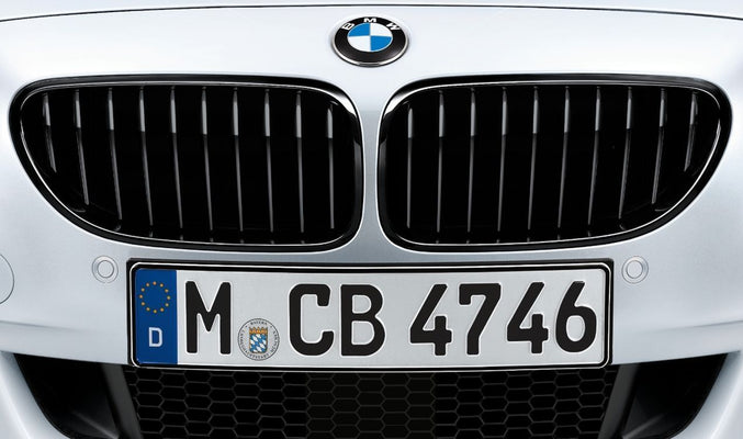 BMW M Performance Genuine Front Right Grille Black